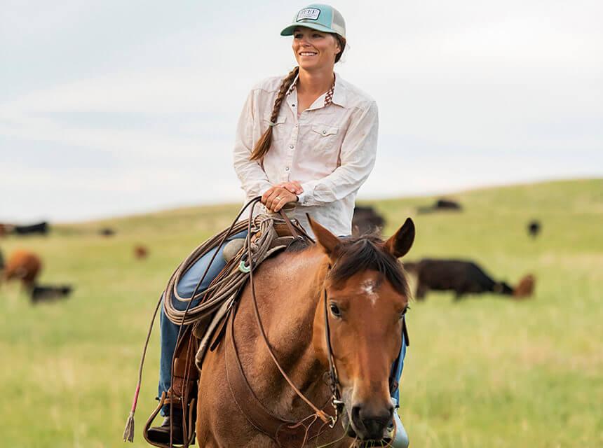 Beef Industry Advocate Terryn Drieling